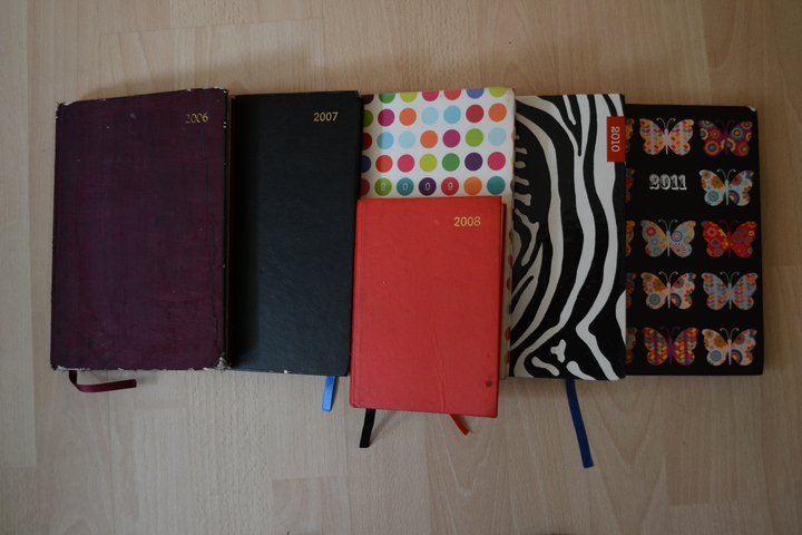 2006-2011: the final paper diaries before the great digital switchover of '12