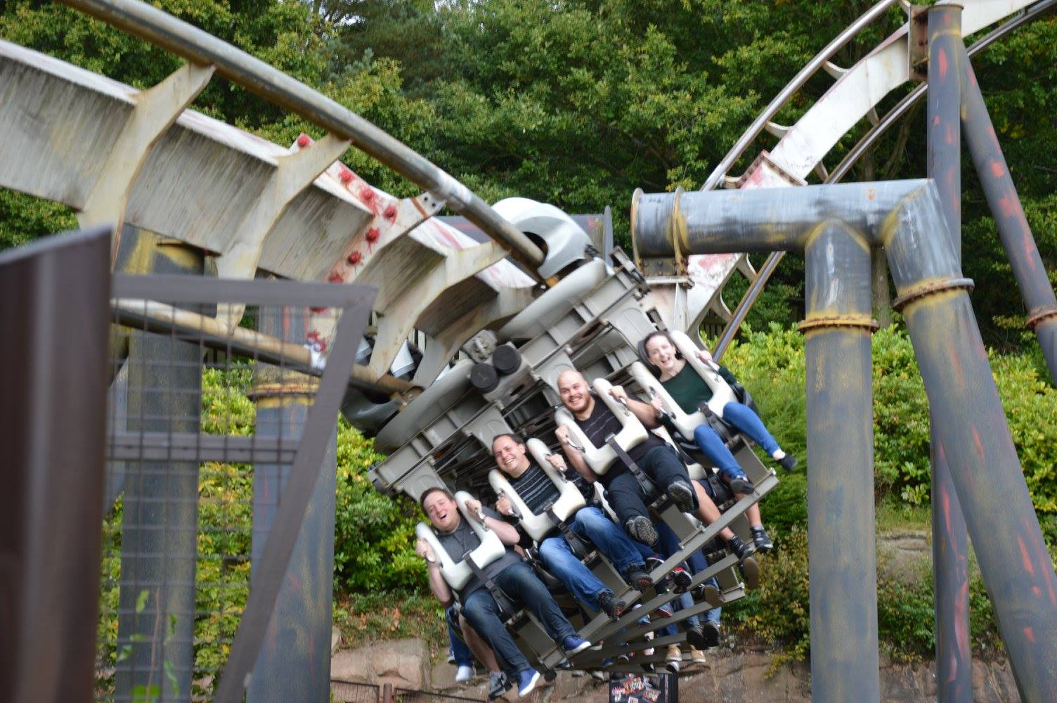 Front row on Nemesis