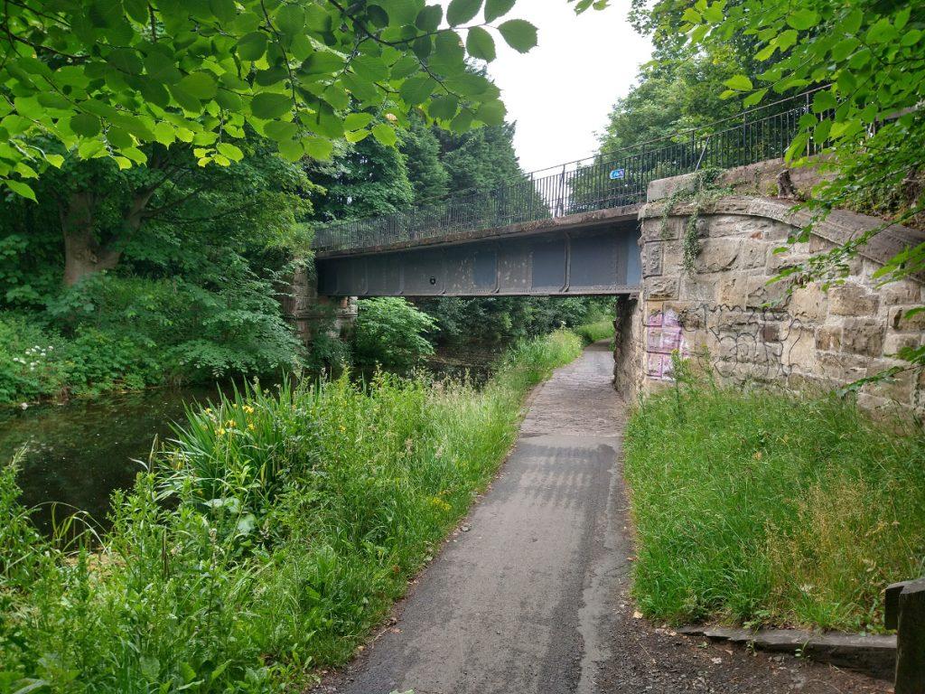 Balerno Branch bridge