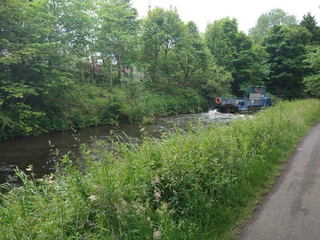 Scottish Canals dredger