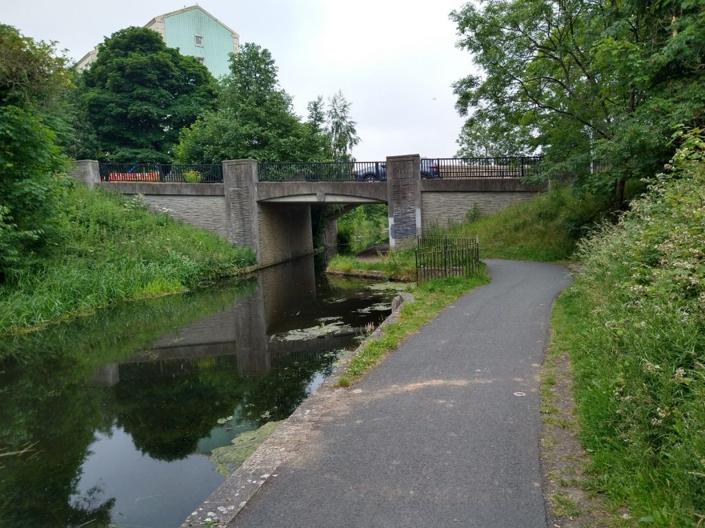 Union Canal at Dumbryden Road